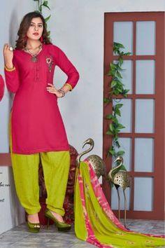 Cotton Salwar Kameez, Salwar Suits, Patiyala Dress, Side Cuts, Lace Border, Daily Wear, Winter Collection, Cotton Dresses, Sari