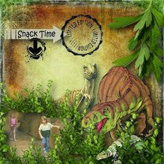 Google+   https://www.etsy.com/au/listing/210492190/dinosaur-scrapbook-kit-masculine?ref=shop_home_active_1 Deinos Sauros Kit by Scrapbookingdom ... page by Linda Lent