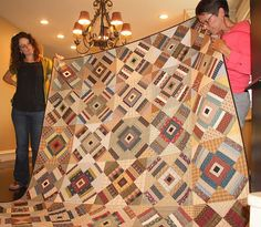 nice quilt--lovely colors