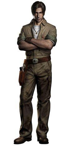 """Resident Evil: Outbreak"" 2003 Video Game (Character: David King)"
