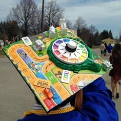Struggling to figure out how to decorate a graduation cap? Get some inspiration from one of these clever DIY graduation cap ideas in These high school and college graduation cap decorations won't disappoint! Funny Graduation Caps, Graduation Cap Designs, Graduation Cap Decoration, Graduation Diy, Decorated Graduation Caps, Funny Grad Cap Ideas, Graduation Quotes, Graduation Announcements, Graduation Invitations