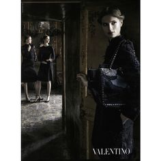 Valentino Ad Campaign Fall/Winter 2012 ❤ liked on Polyvore