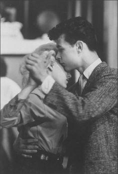 Teens, 1950s A proper Slow Dance.