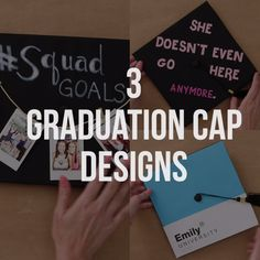 3 DIY Graduation Cap Design Ideas