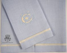 I recreated the monogram I love on a guest towel, initials LLC