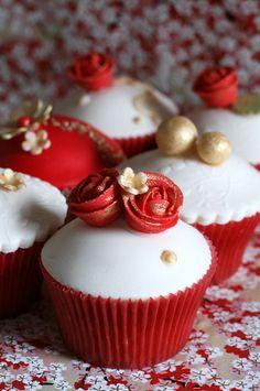 Bollywood style wedding cupcakes... by kylie lambert (Le Cupcake), via Flickr