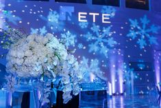 Image from posted by Evoke Design & Creative Winter Wonderland Christmas Party, Fire And Ice, Holiday Parties, Party Ideas, Creative, Image, Design, Ideas Party