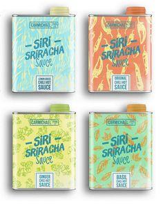 Siri Sriracha Sauce — The Dieline | Packaging & Branding Design & Innovation News