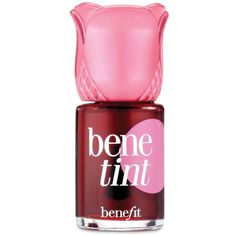 Benefit Cosmetics  Benetint Cheek And Lip Stain (95.720 COP) ❤ liked on Polyvore featuring beauty products, makeup, lip makeup, lip stain, beauty, lips, rose and benefit lip stain