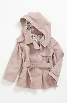 OLD NAVY Baby Toddler Girl's Quilted Double Breasted Trench Coat ...