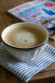 bowl of latte   Lisa Hjalt