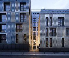 Coallia - Residence and Social Restaurant | Périphériques Architectes #France #MixedUseArchitecture #Paris #PériphériquesArchitectes #Residential #Resturant