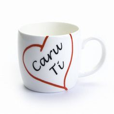 Caru ti mug (love you)