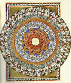 Becoming Christian Mystics Again, by Matthew Fox (image: The Choirs of Angels, by Saint Hildegrd von Bingen)