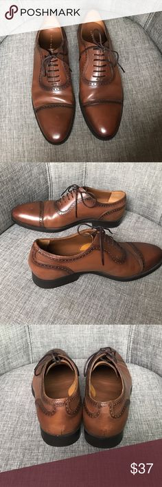 ZARA man brown genuine leather oxfords Zara Man great genuine leathers oxfords! MSRP $79.99. Preowned, you can see they are in great condition! Measurements and additional photos gladly given upon request. Zara Shoes Oxfords & Derbys