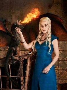 Khaleesi and the Dragon