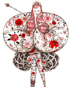 Supersonic Art: Laura Laine, Illustrations. I last featured Laura...