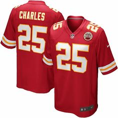 Nike NFL Kansas City Chiefs Jamaal Charles Youth Replica Football Jersey $69.95