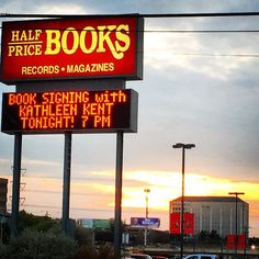Appearance at @halfpricebooks Flagship Store in #Dallas for THE OUTCASTS  #amreading #books #bookclub