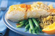 Citrus Glazed Fish recipe