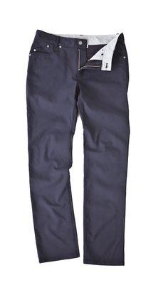 Outlier Slim Dungarees, water resistant, odor resistant, wrinkle resistant, everything resistant.