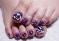 Japanese nail design#footnail#nail#爪#ジェルネイル#ぺディキュア