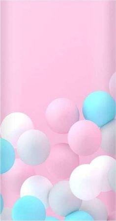 Birthday Wallpaper Iphone Pink Ideas Pastel Balloons, Mobile Wallp… – My CMS Wallpaper Wa, Flower Phone Wallpaper, Pink Wallpaper Iphone, Pink Iphone, Trendy Wallpaper, Cute Wallpaper Backgrounds, Tumblr Wallpaper, Cellphone Wallpaper, Pretty Wallpapers