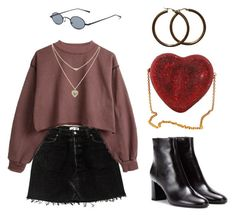 """untitled #122"" by cherrycoffee ❤ liked on Polyvore featuring Lipsy and Yves Saint Laurent"