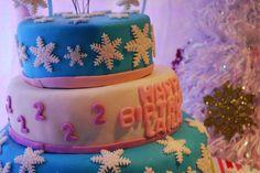 "Photo 14 of 31: Winter Wonderland, Snowman, Snowflake / Birthday ""Laila's Girly Snowman 2nd Birthday"" | Catch My Party"