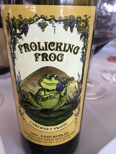 Discover the wineries of Downtown Paso Robles.  One winery is Frolicking Frog and their Frolicking Frog Cabernet Franc is worth trying.