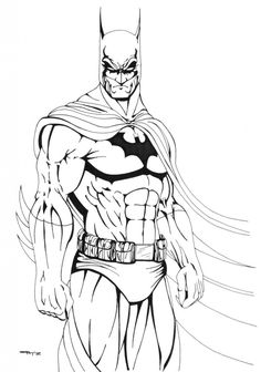Printable Coloring Pages Batman