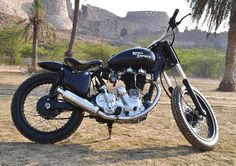 Royal Enfield- another great British bike!