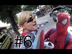 #6 Thor Homem Aranha Spider-Man Marvel Avengers Vingadores Papai RG Copa...