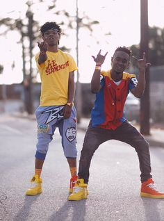 Rae Sremmurd are a new duo, I find them so awesome with there songs ''no flex, zone'' and ''no type''