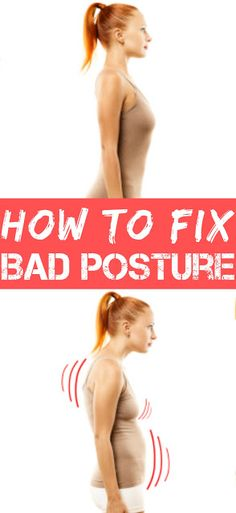 How to Fix Bad Posture : Slouching—with your shoulders and upper back rounded forward—can lead to aches and pains in your back, neck and shoulders...Read More