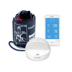iHealth Ease Wireless Blood Pressure Monitor for Apple and Android Standard Cuff ** For more information, visit image link.