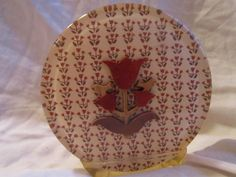 Vintage Lucite Letter or Napkin Holder Tulips Kitch. $23.00, via Etsy.