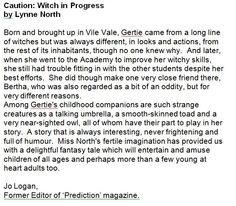 Great review from the former editor of Prediction magazine!
