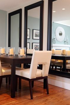 Burnaby Residence - Contemporary - Dining Room - Vancouver - by Maria Killam