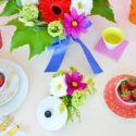 Floral Boho centerpiece DIY - Centrotavola fiorito fai da te