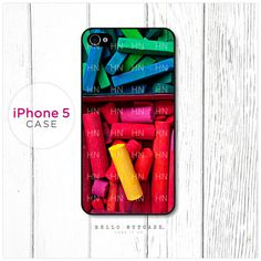 iPhone 5 case Color Chalk Box.  via Etsy.
