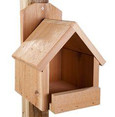 how to make a cardinal bird house - Google Search