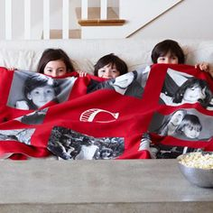 Gallery Monogram Fleece Photo Blanket: every purchase through this link earns a free donation.