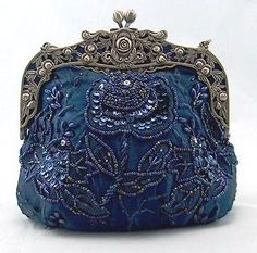 Evening bags vintage she