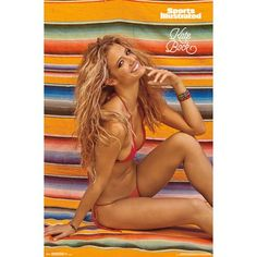 Sports Illustrated - Kate Bock Poster Mount Bundle, Size: inch x 34 inch, Multicolor Vancouver, Sports Frames, Swimsuit Edition, Beautiful Blonde Girl, Beautiful Ladies, Barbara Palvin, Sports Illustrated, Sport Girl, Poster Wall