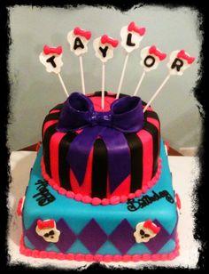 Monster high cake www.TwentyOneCakes.com