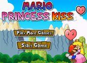 Mario Princess Kiss | juegos de mario bros - jugar online