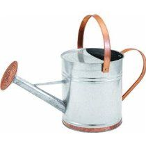 Silver & Copper Watering Can
