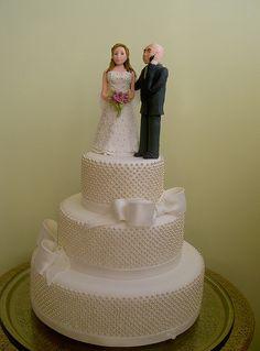 Bolo de Casamento de Renata e Alexandre by A de Açúcar Bolos Artísticos, via Flickr