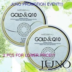 Hydrogel patches for the eyes Juno Gold and ( 60 pcs ) made in KOREA
